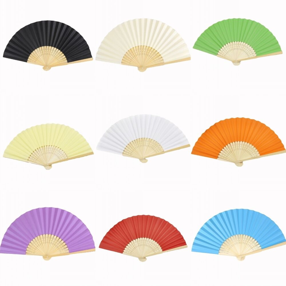 how to make paper fans for weddings