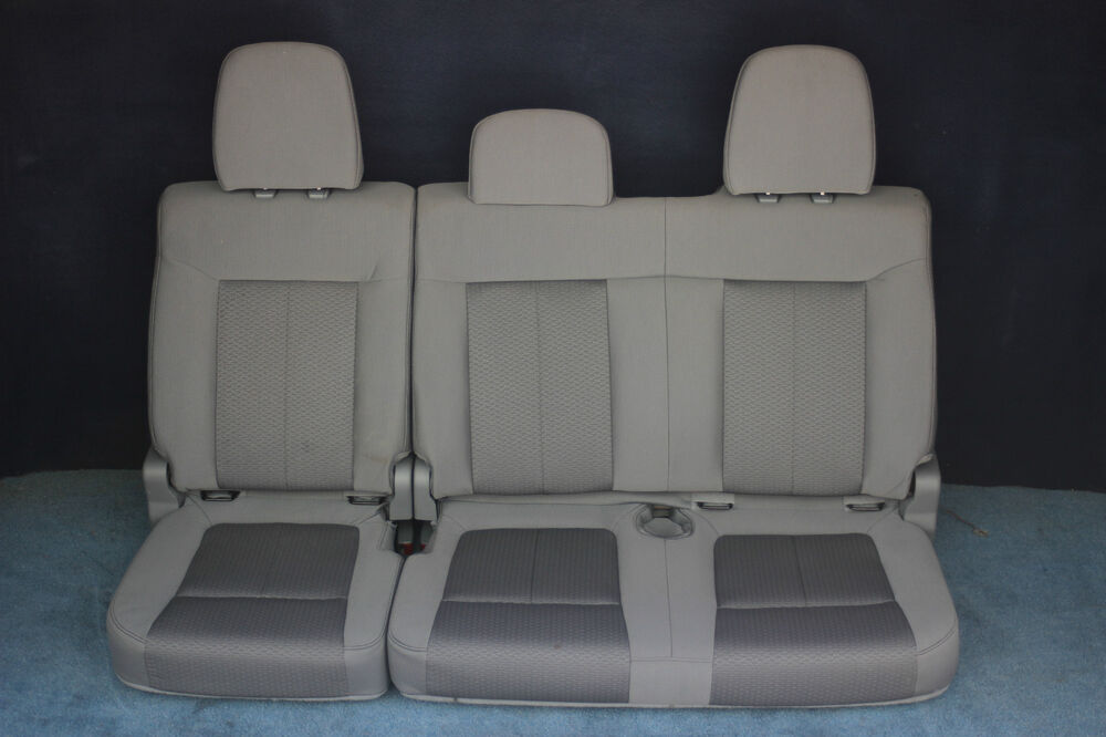 F crew cab rear split bench seat