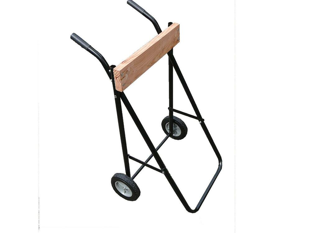 Outboard motor stand trolley heavy duty suit small or for Large outboard motor stand