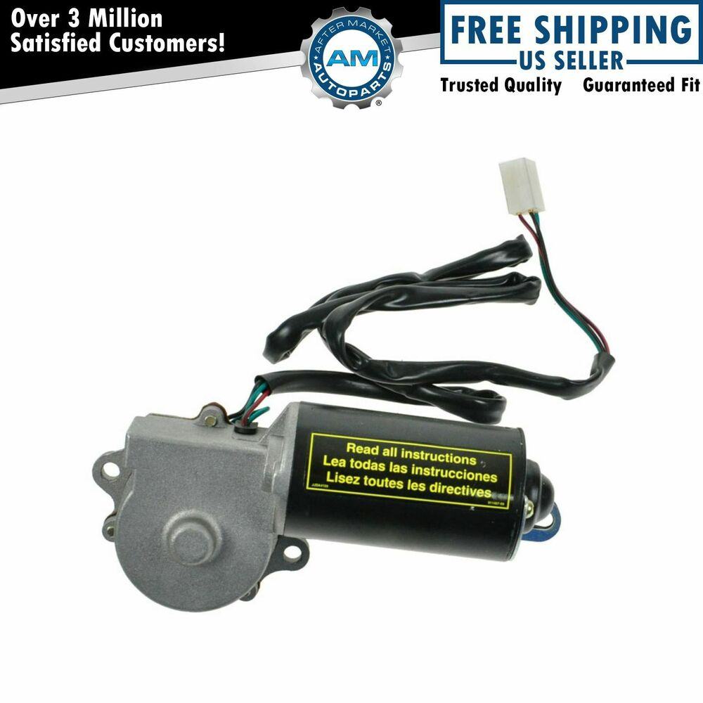 Front Windshield Window Wiper Motor New For 76