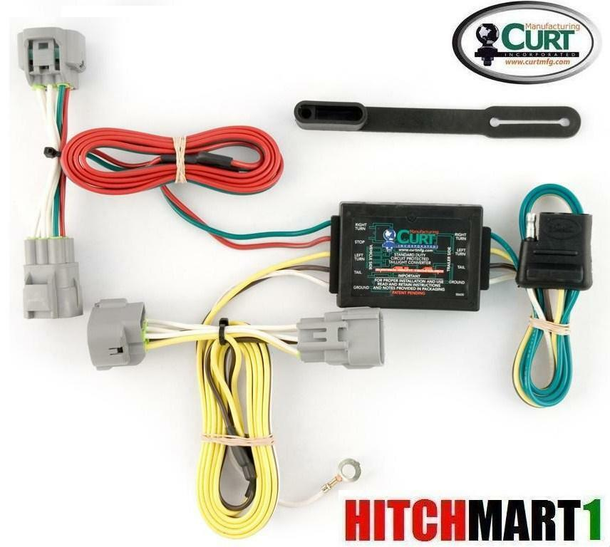 toyota trailer adapter wiring diagram curt trailer hitch wiring for 2005-2013 toyota tacoma ...