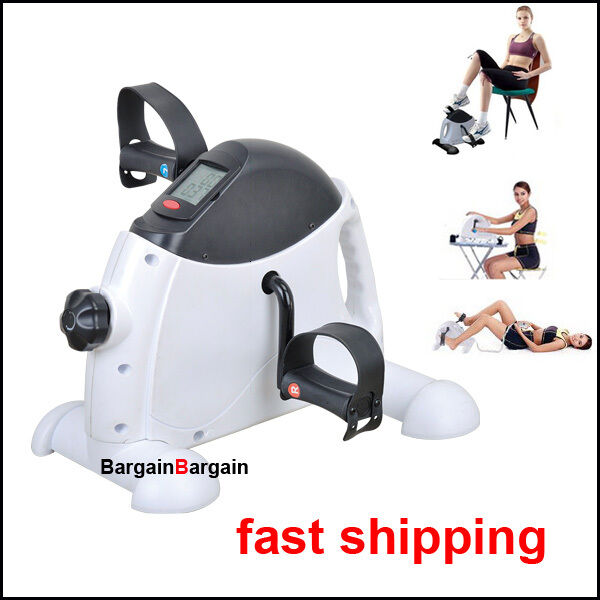 Exercise Bike Portable: Portable Gym Fitness Workout Hand Foot Pedal Mini Exercise