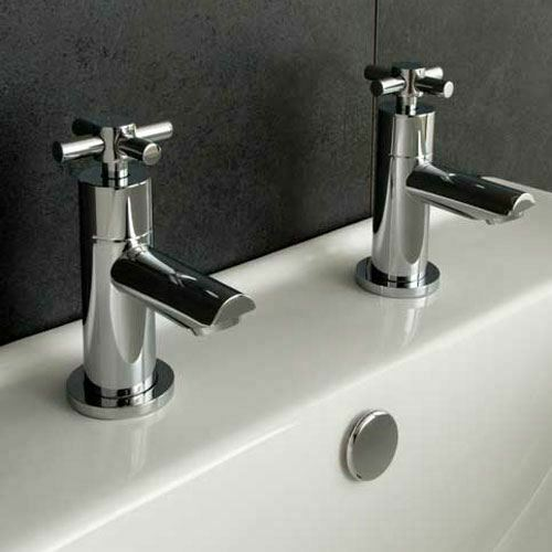 contemporary bathroom taps indigo bathroom bath filler chrome taps modern cross 12466