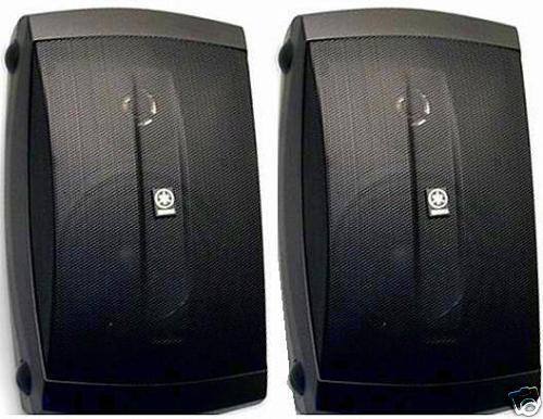 Yamaha Natural Sound   Way All Weather Outdoor Speakers Pair White