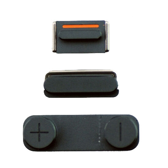 iphone 5 lock button 100 original iphone 5 slate grey button set power lock 2716