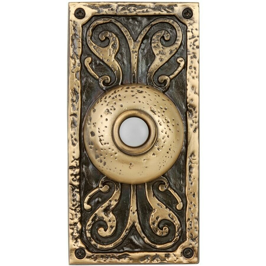 Craftmade Traditional Surface Mount Doorbell Burnished