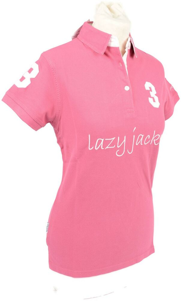 Brand new lazy jacks ladies plain polo shirt top cotton for Best quality polo shirts for men