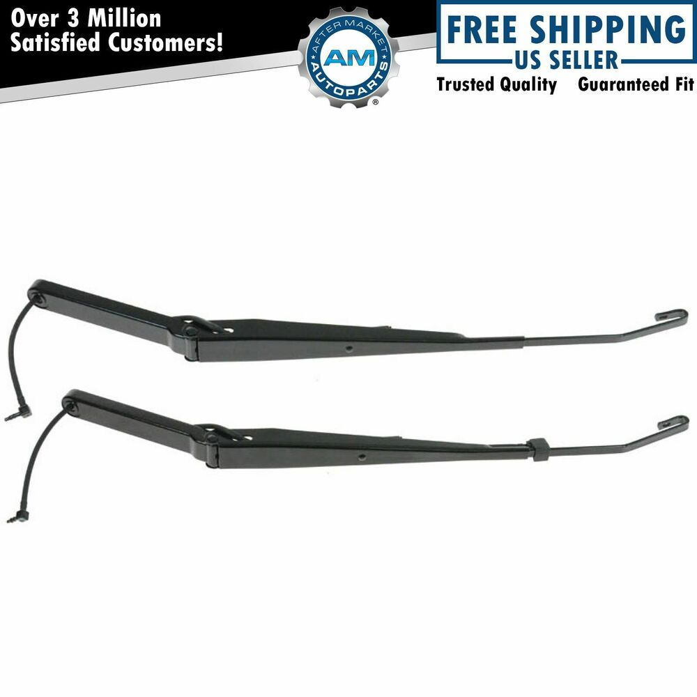 front windshield wiper arm pair set for cadillac chevy gmc