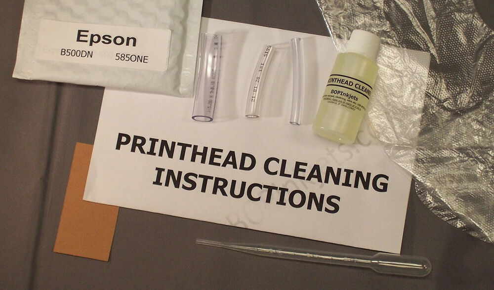 how to clean up printhead