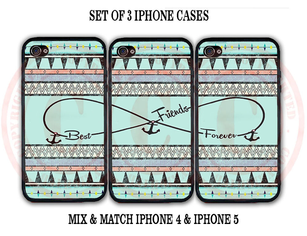 best friend iphone cases mint black vintage aztec bff best friends 3 cases 9118