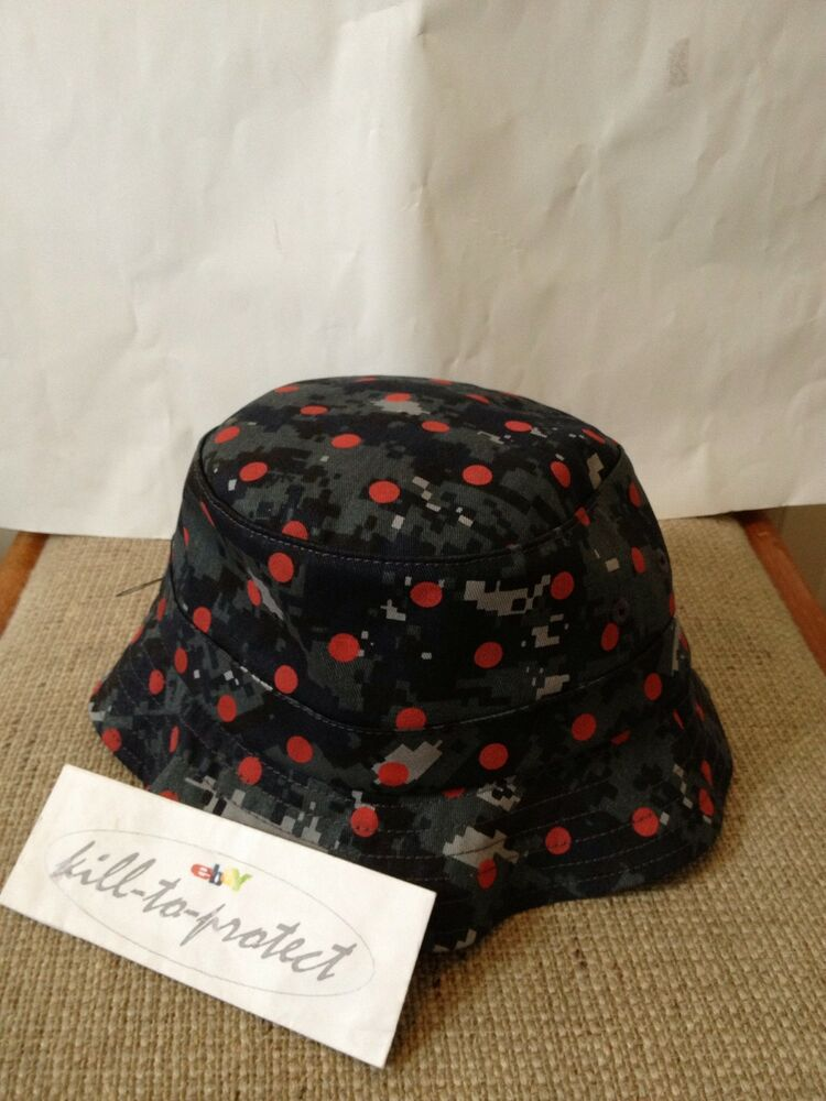supreme x comme des garcons cdg bucket hat crusher s