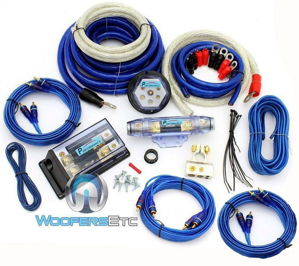 2 gauge wiring kit 8000w 0 gauge 4 awg 3 rca 2 way power complete amplifier ... auto gauge wiring diagram boost gauge