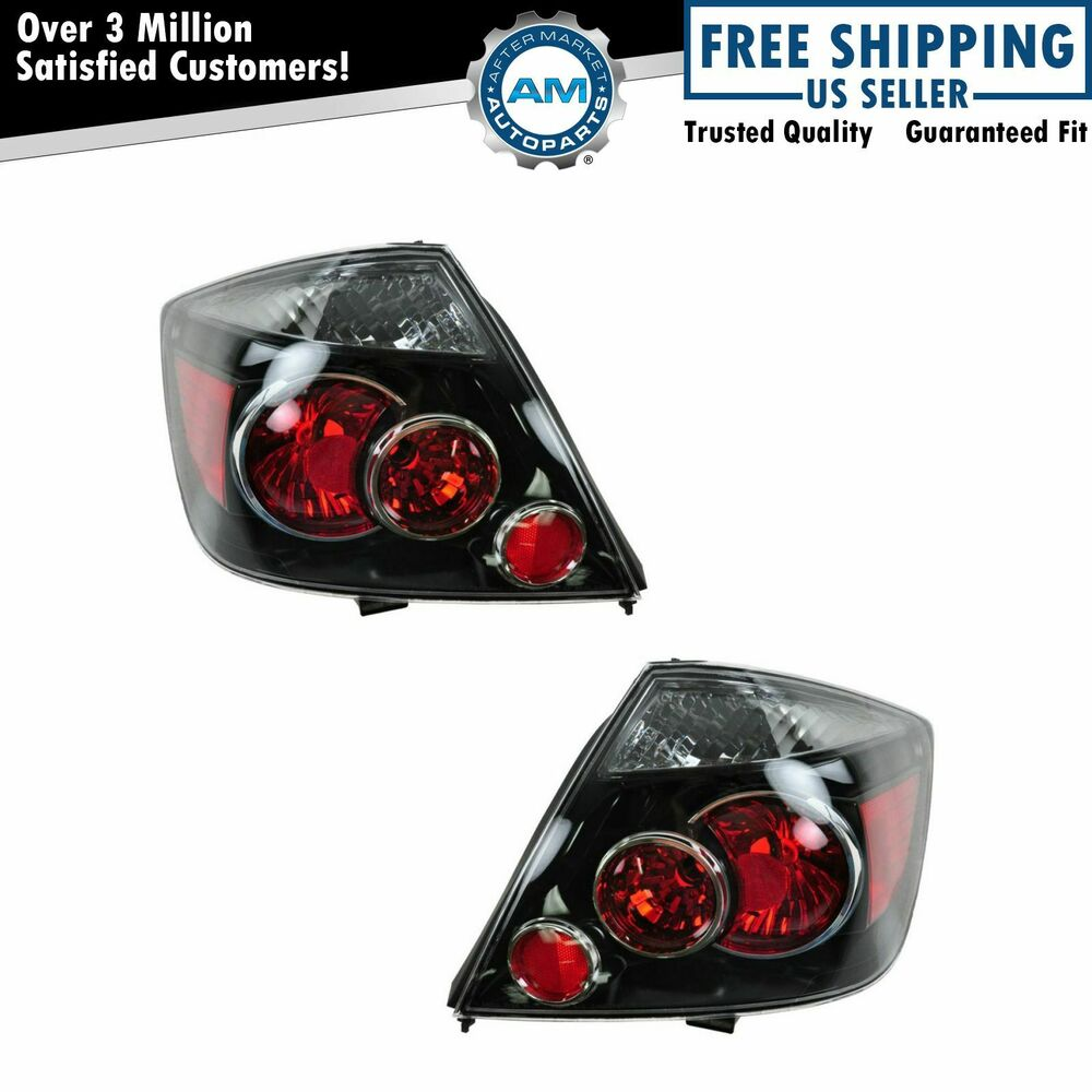 lights taillamps taillights pair set left right for 07 09 scion tc. Black Bedroom Furniture Sets. Home Design Ideas