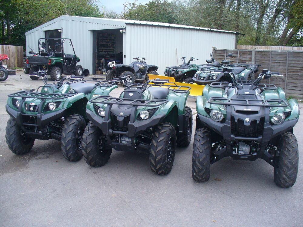 New 2014 yamaha grizzly 700 350 450 550 4x4 atv quad bike for 2014 yamaha grizzly 450 value