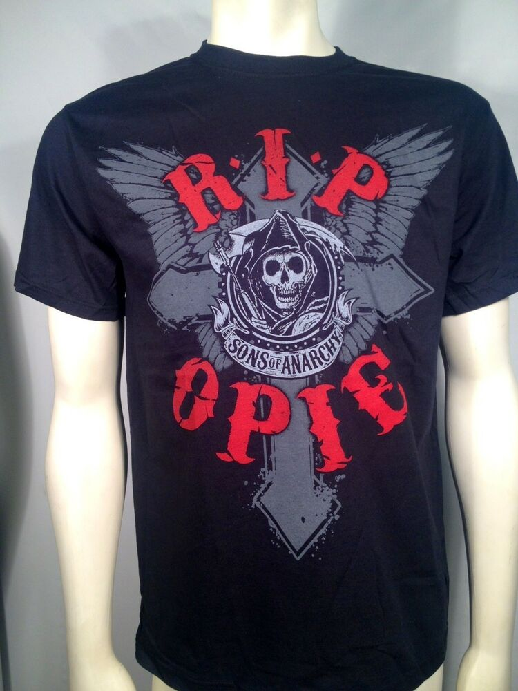 authentic sons of anarchy rip opie soa mens reaper cross. Black Bedroom Furniture Sets. Home Design Ideas