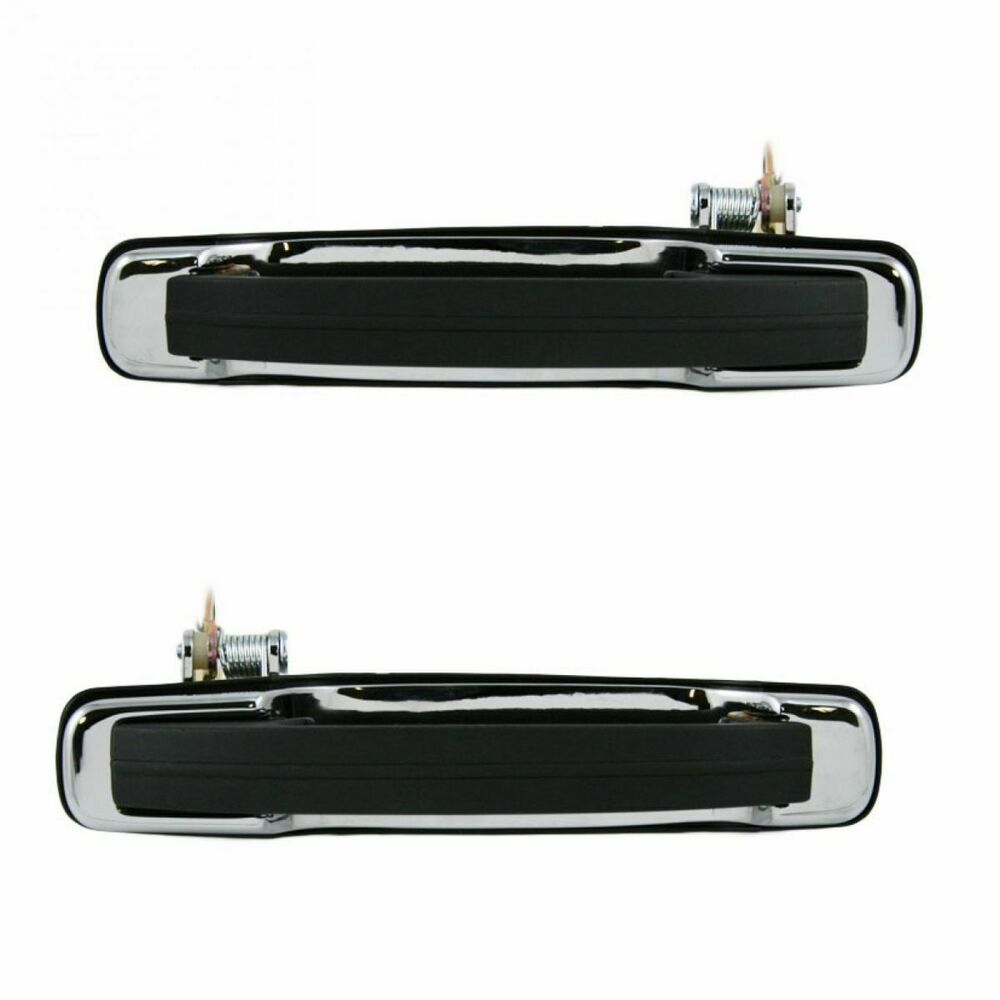 Rear Exterior Outside Outer Door Handle Pair Set Kit For