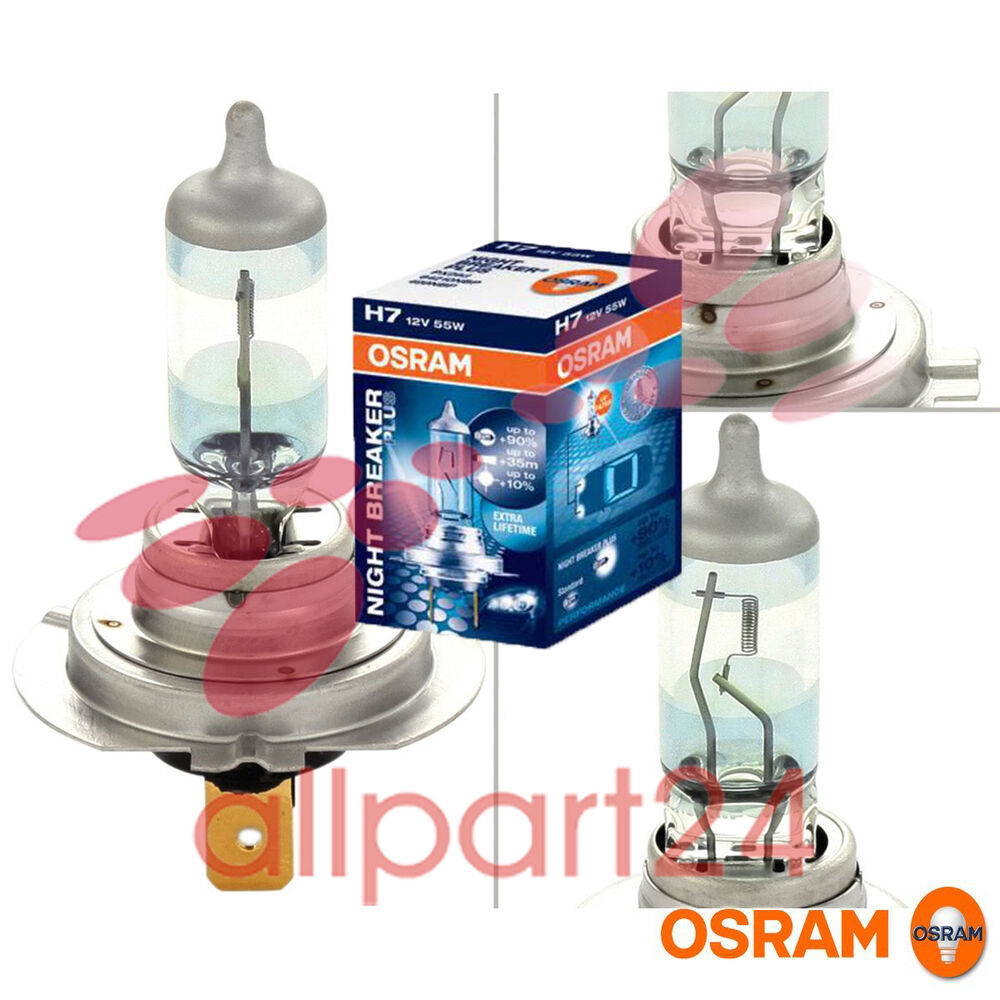 osram 64210nbp lampe 39 night breaker plus 39 h7 12v 55w px26d 1 st ck im karton ebay. Black Bedroom Furniture Sets. Home Design Ideas