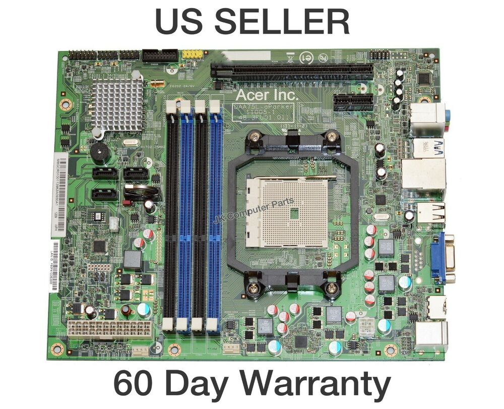 Gateway Sx2370 Amd Desktop Motherboard Daa75l Aparker 48