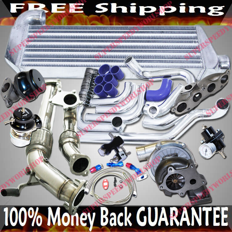 Turbo Kits T3/T4 Turbo for 02-06 Acura RSX Type-S Coupe 2D ...