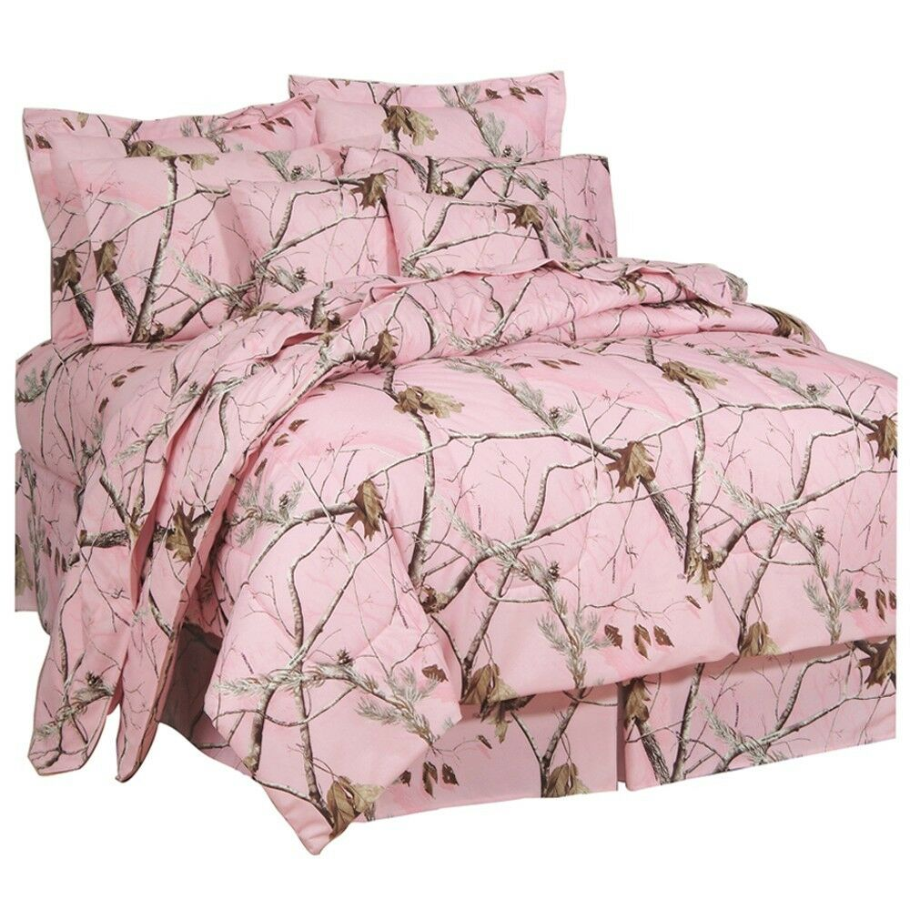 pink camo bedroom accessories realtree 174 ap pink camo comforter set amp sheets bed in bag 16724