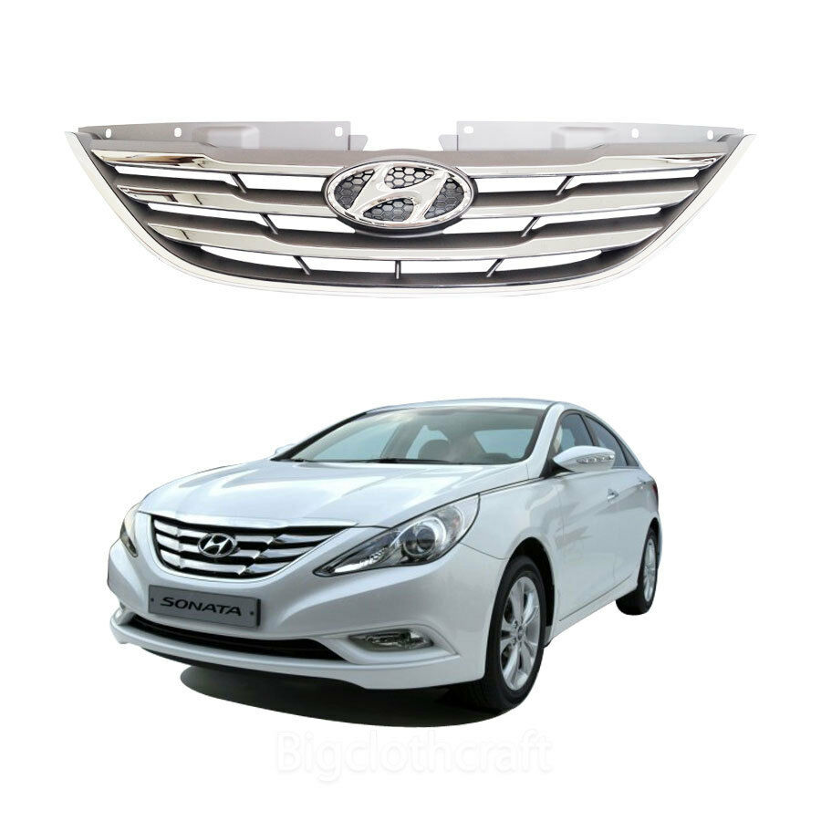 New Oem Chrome Radiator Grille For Hyundai Sonata 2011