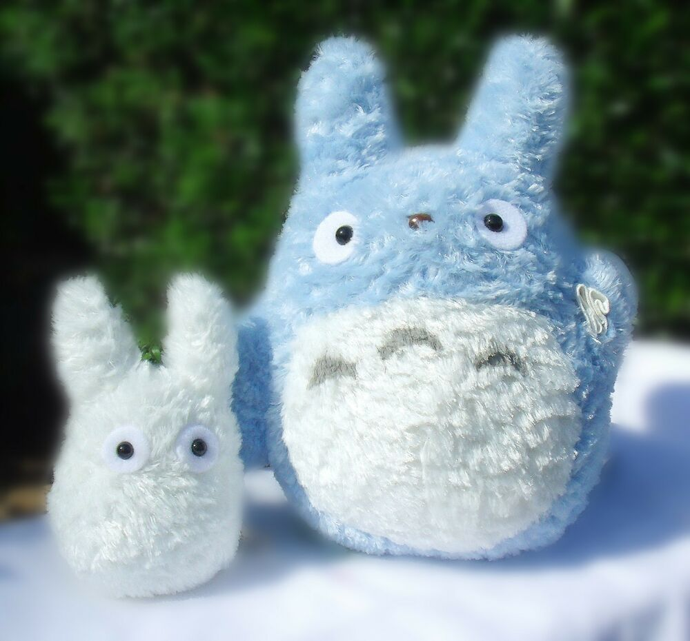 "TOTORO 8"" Japanese Studio medium size blue Plush Doll & 4 ..."