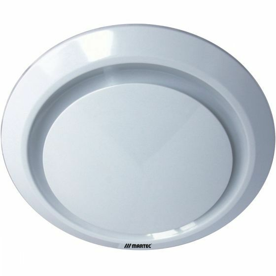 Martec Gyro Round Ceiling Exhaust Fan Kitchen Bathroom White Mxfg25w Ebay