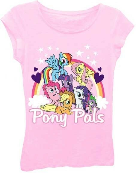 my little pony pony pals girls the princess tee shirt s xl