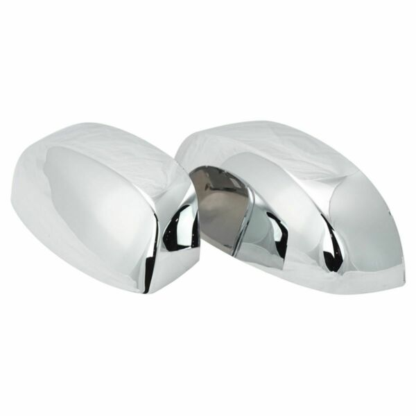 Chrome Side View Mirror Caps Left & Right Pair Set for Silverado Sierra Truck