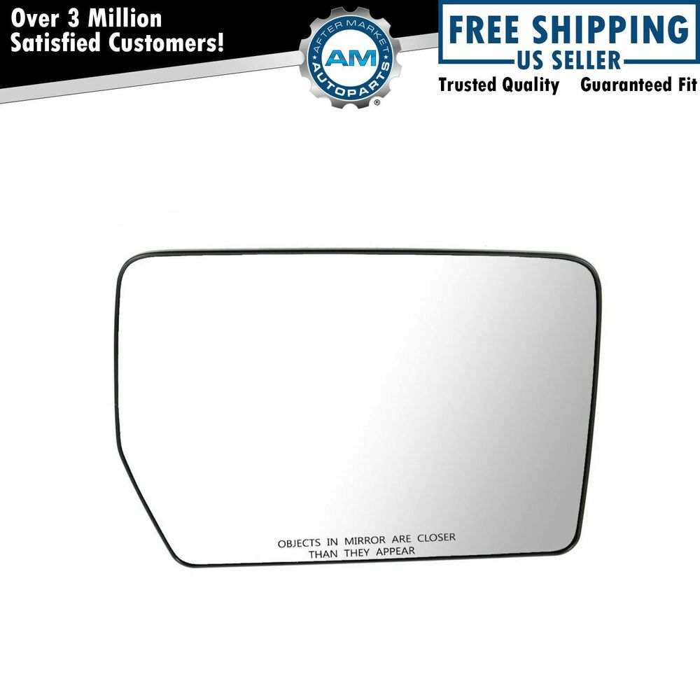 power mirror glass passenger side right rh for ford f150. Black Bedroom Furniture Sets. Home Design Ideas