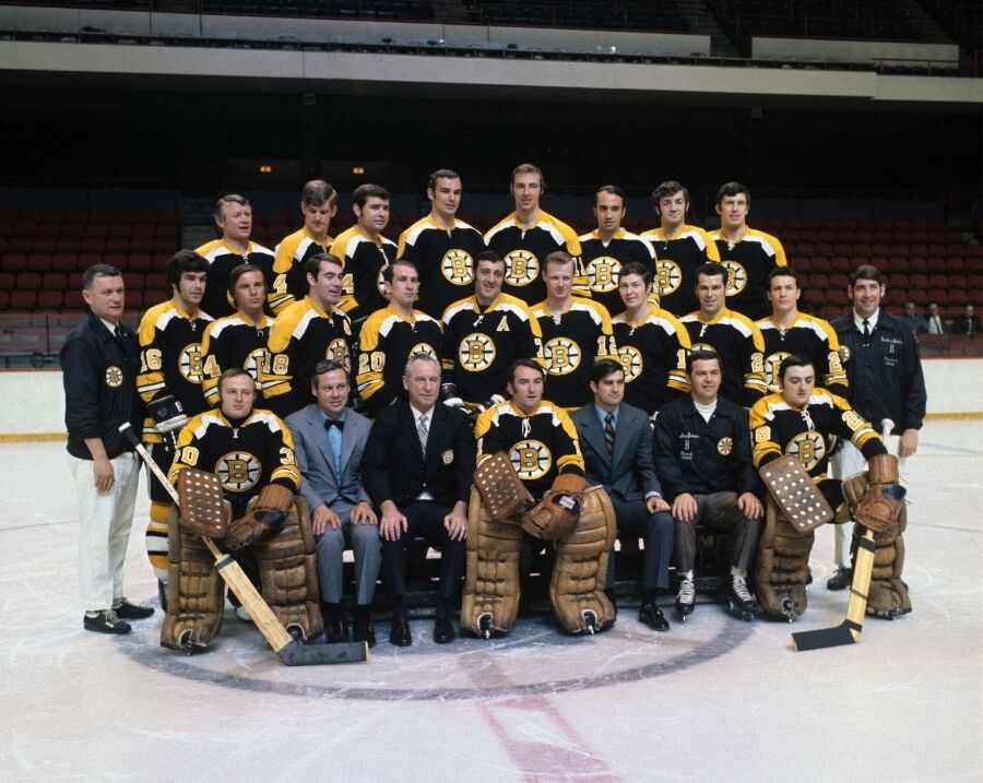 Boston Bruins - 1970-71 8x10 Color Team Photo | eBay
