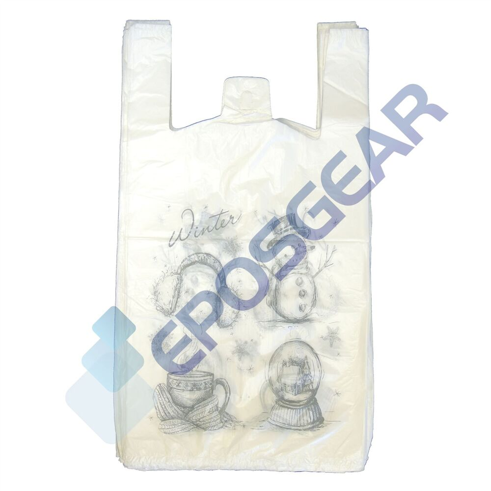 Extra Large Plastic Christmas Gift Bags