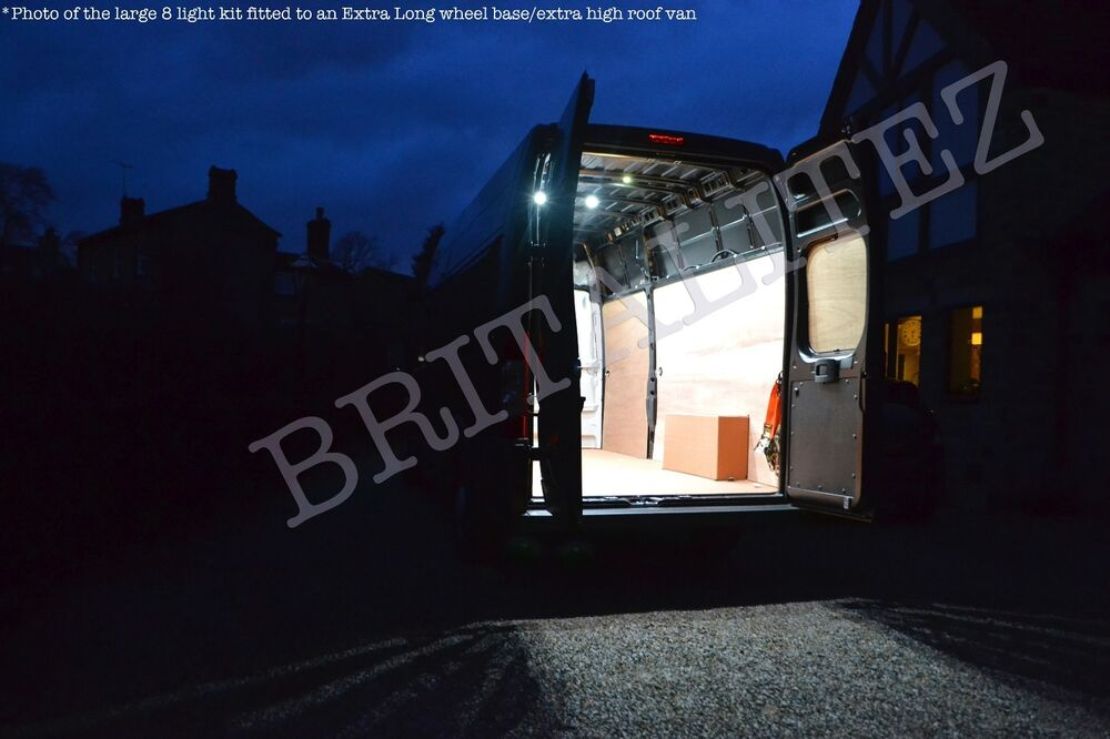 vw crafter led light kit van lighting loading area lights interior lights ebay