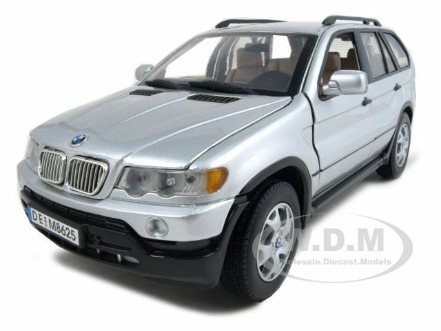Bmw X5 Silver 1 18 Diecast Model Car By Motormax 73105 Ebay