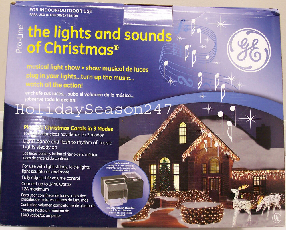 Outdoor Christmas Lights Music Controller