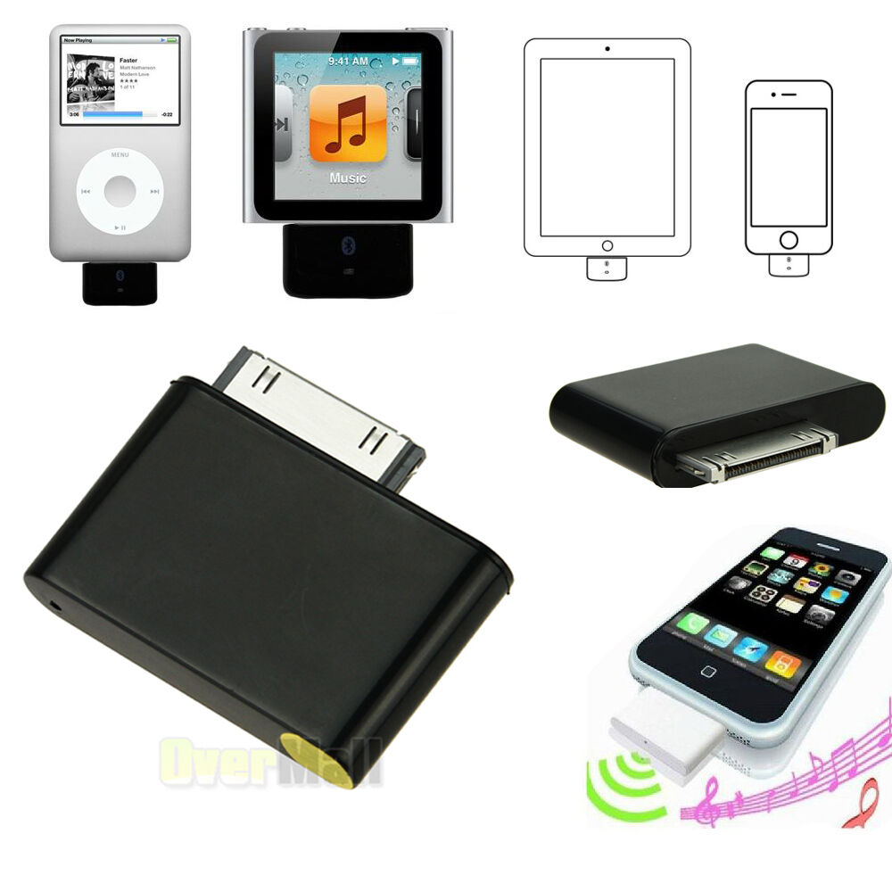 iphone 4 adapter bluetooth adapter for ipod classic iphone touch nano 10836