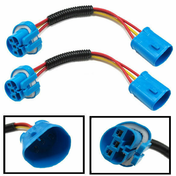 9004 9007 Hb5 Extension Wiring Harness Sockets Wire For