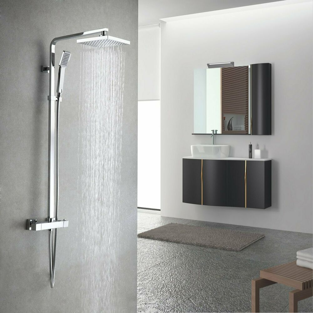Lois Modern Bathroom Thermostatic Shower Mixer Bar Valve