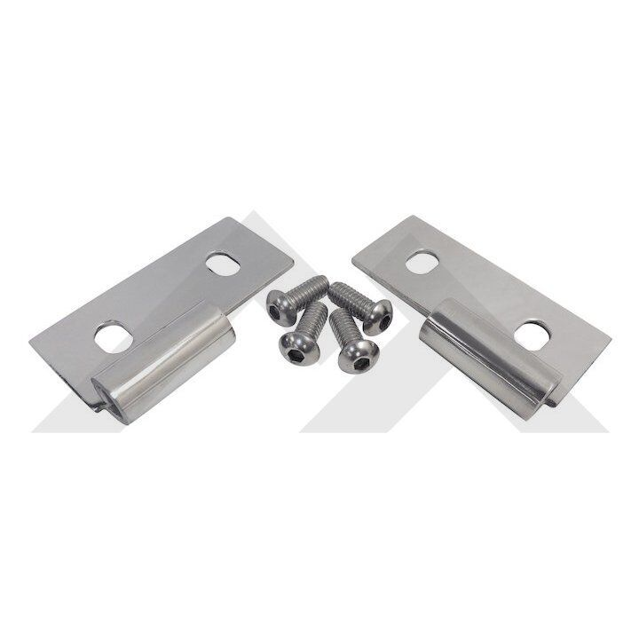 Lower Door Hinges 76 06 Jeep Cj And Wrangler Stainless