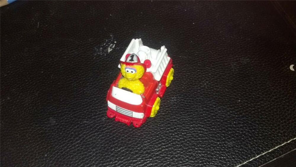Big bird fire truck by tyco 1997 matchbox ebay