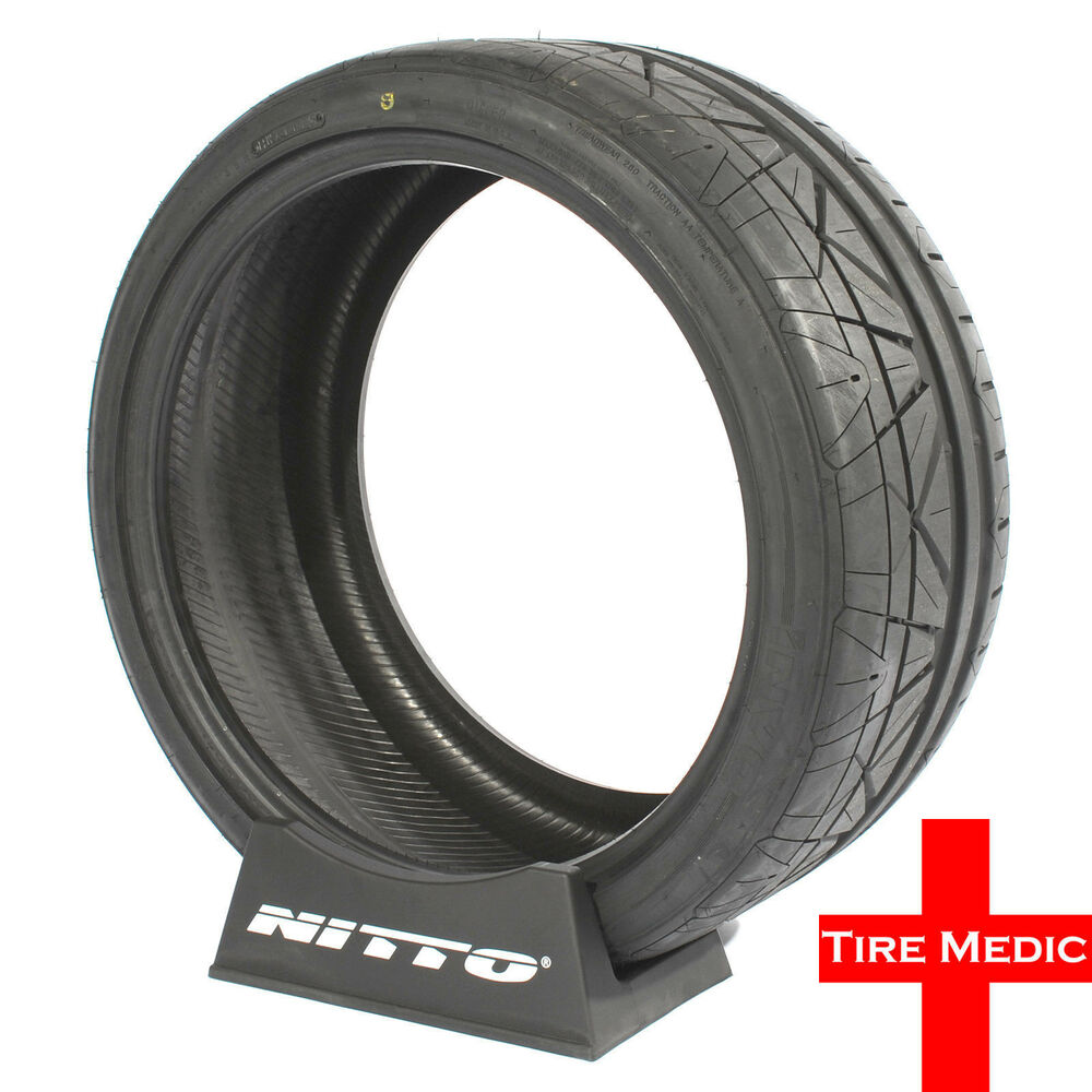 1 new nitto invo performance tires 255 35 19 255 35zr19. Black Bedroom Furniture Sets. Home Design Ideas