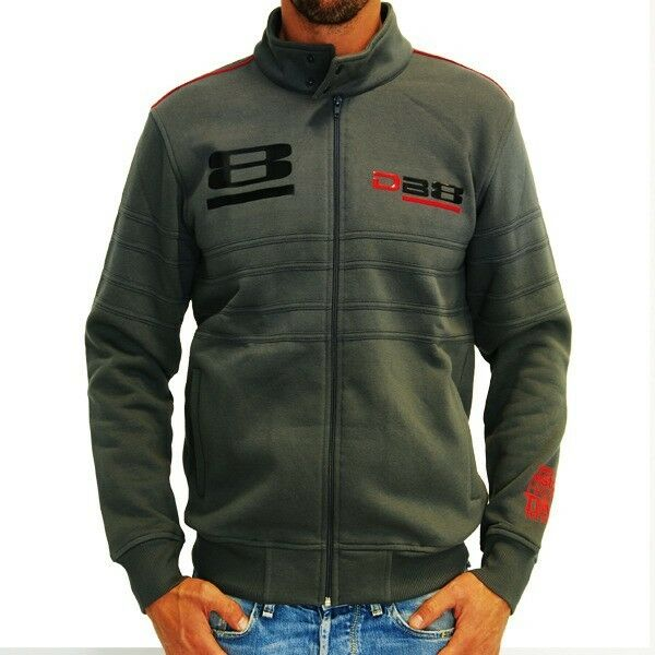 New Official Bimota Mans Grey Full Zip Fleece Ebay