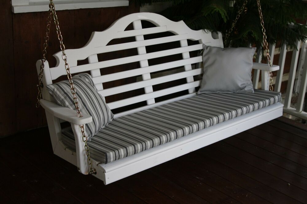 5 Foot Outdoor Bench, Swing And Glider Cushion Sundown