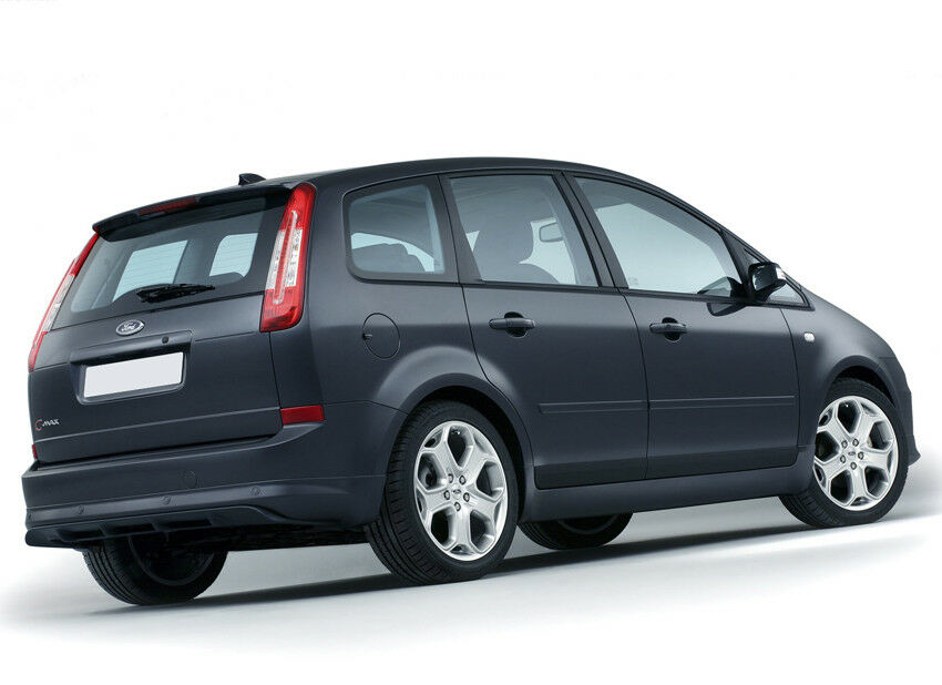 ford c max 2007 2010 rear bumper spoiler skirt valance ebay. Black Bedroom Furniture Sets. Home Design Ideas