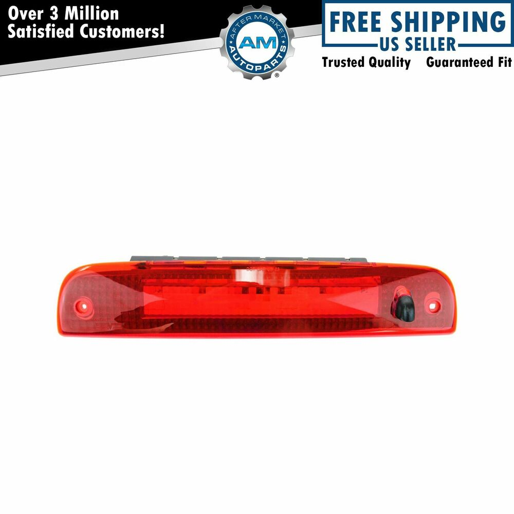 Third 3rd Brake Stop Light Center Rear High Mount For 03