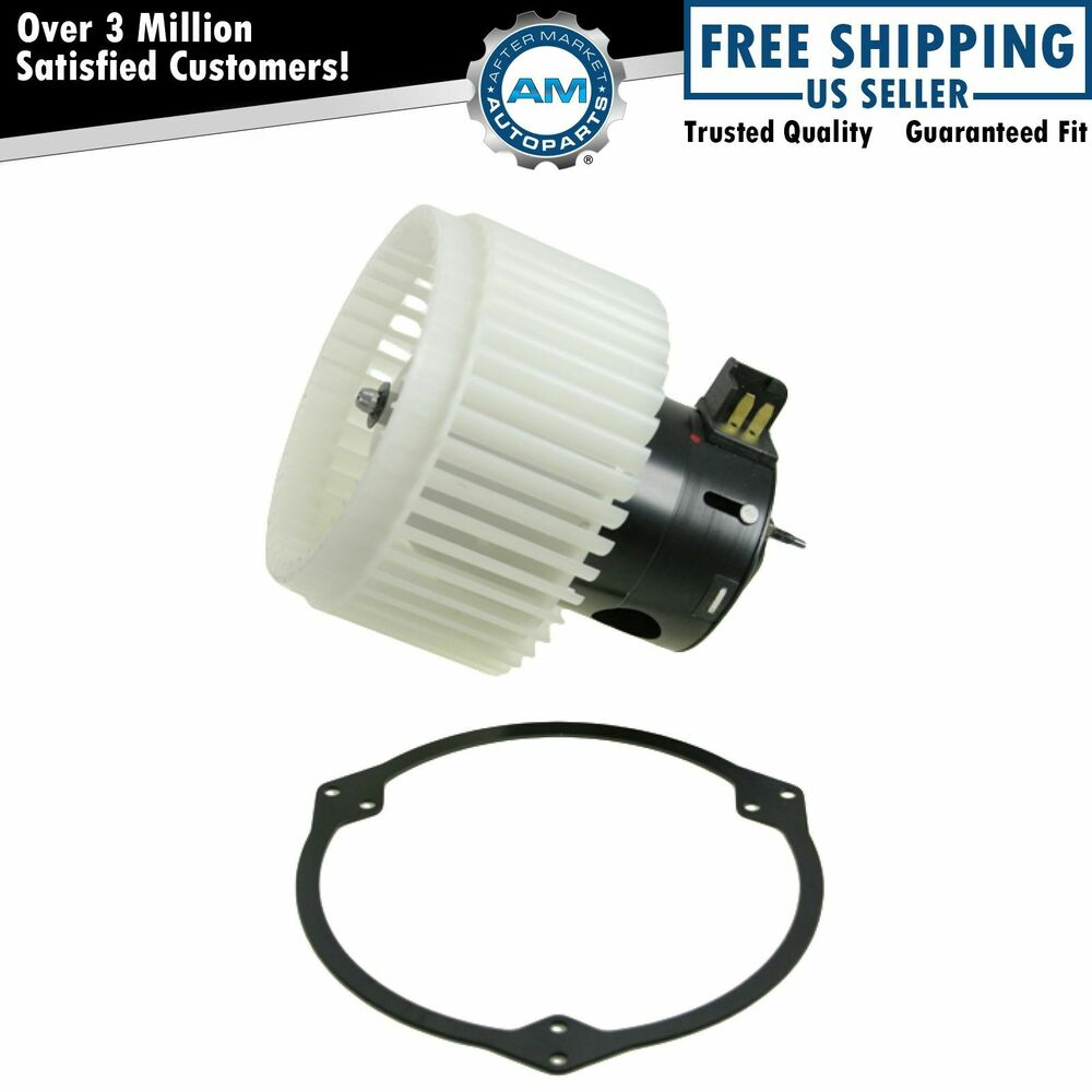 Heater a c ac blower motor w fan cage new for cobalt hhr for Heater blower motor replacement