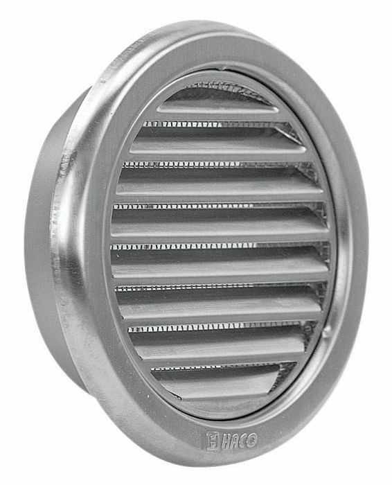 Stainless Steel Air Grille : Circle stainless steel air vent grille cover mm metal
