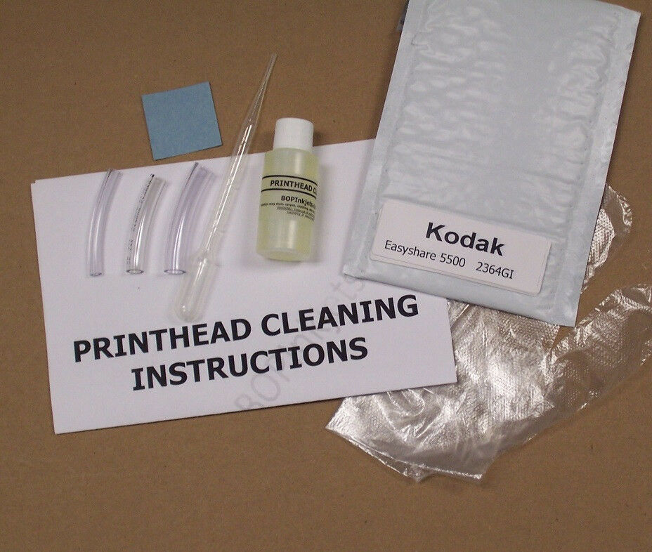 how to clean printhead with alcohol