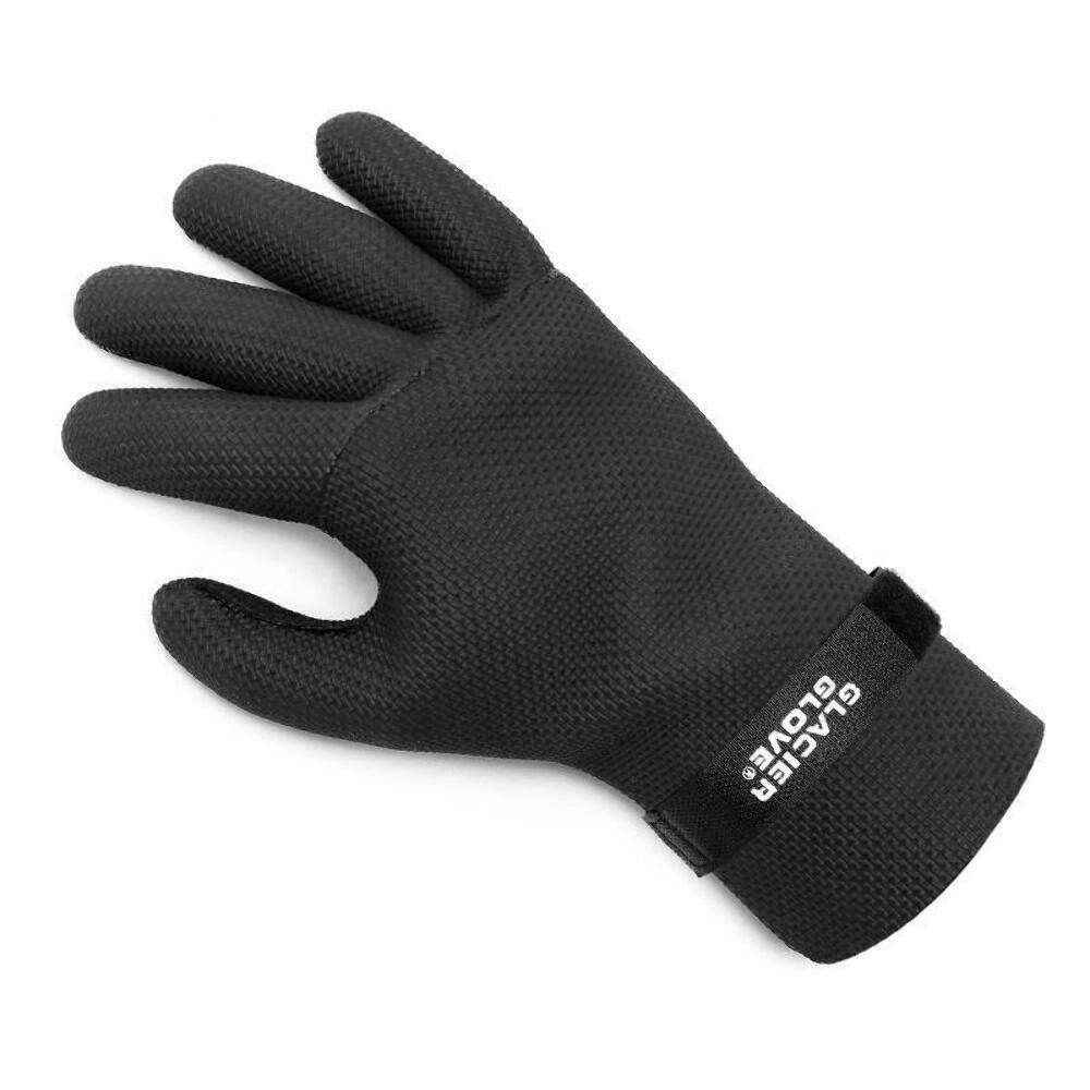 Glacier glove kenai waterproof neoprene w nylon lining for Neoprene fishing gloves