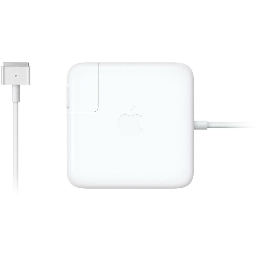 new genuine original apple 13 macbook pro magsafe 2 60w ac power adapter a1435 ebay. Black Bedroom Furniture Sets. Home Design Ideas